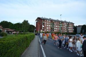 processione tra condomini