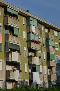 balconi addobbati