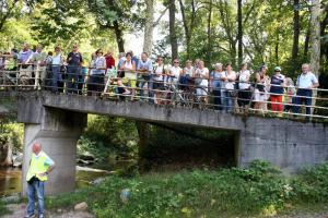 sul ponte della Carlottina