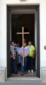 uscita porta santa